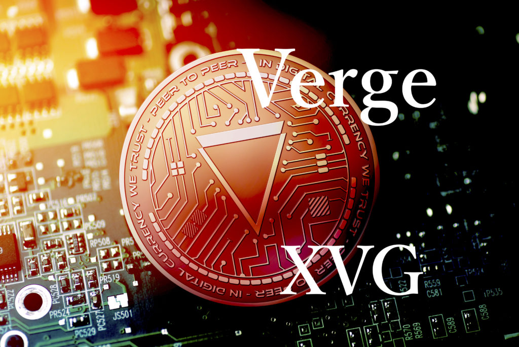Verge(ヴァージ)XVGのロゴ