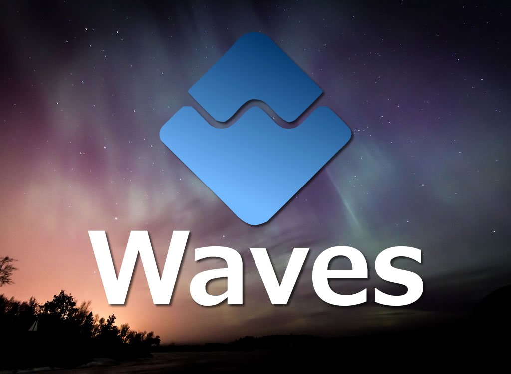 Waves(ウェーブス)ロゴ